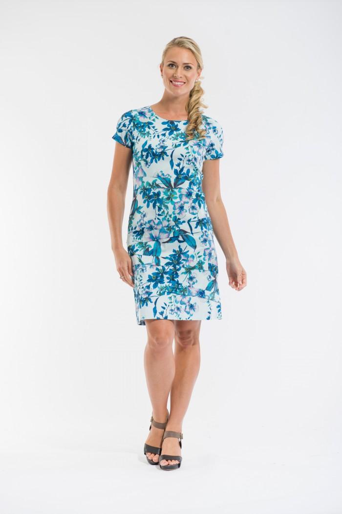 OQ Pleated Dress
