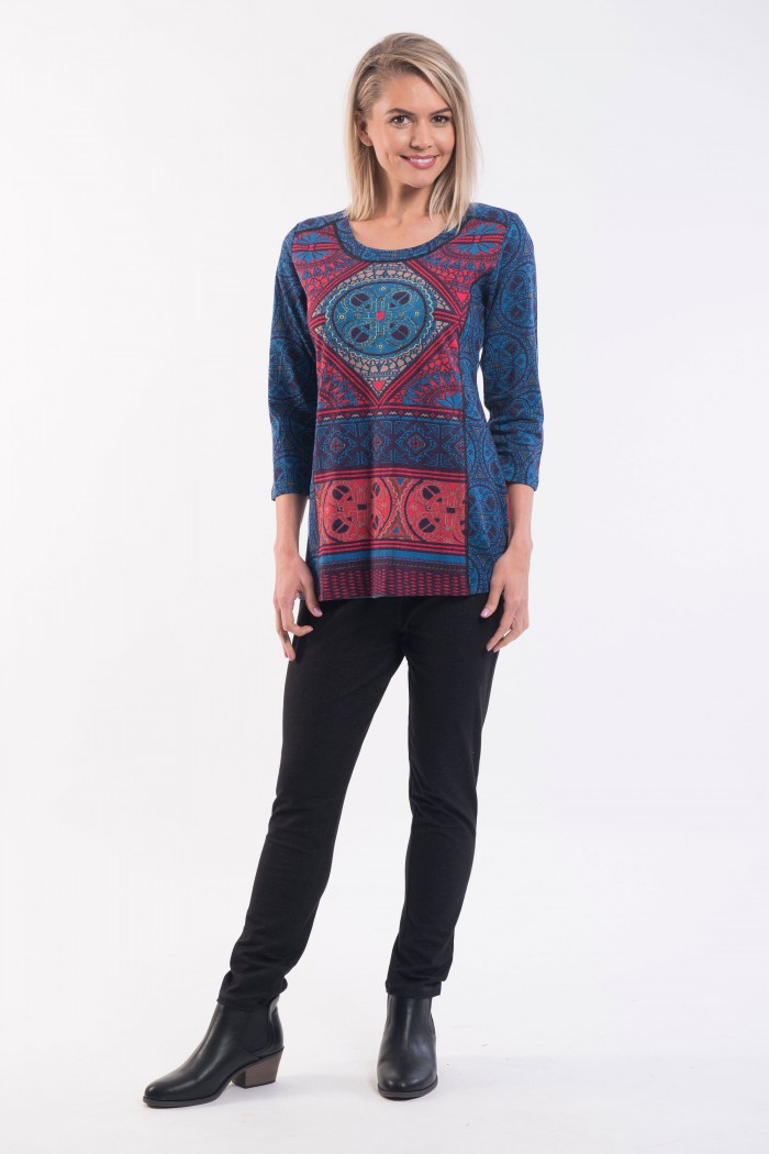 OQ Tunic Lace Strip