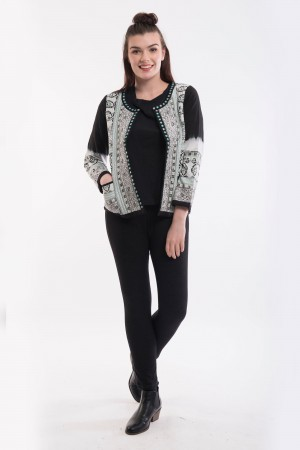 OQ Cardigan Quilted