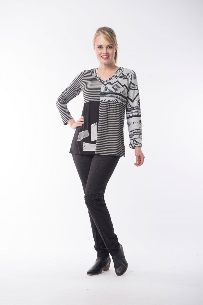 OQ Tunic Long Sleeve