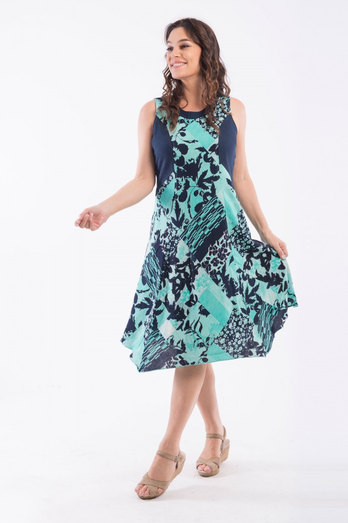 OQ PRINCESS PANEL DRESS