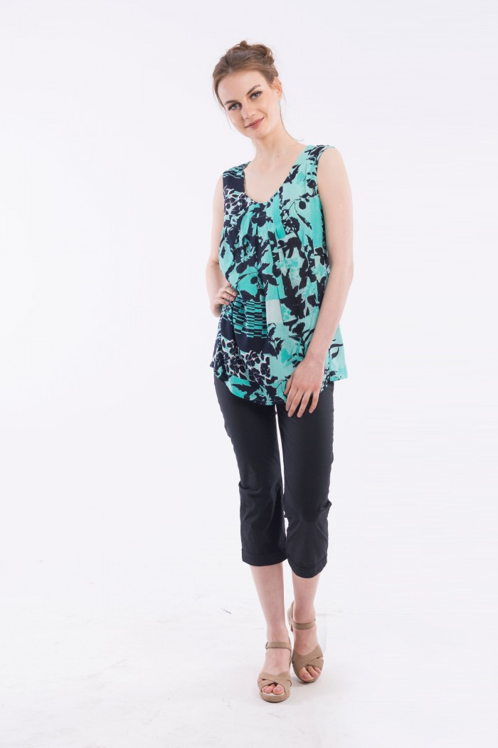OQ PLEATED CAMI