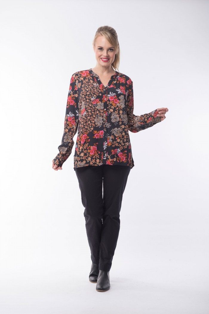OQ Blouse Long sleeve