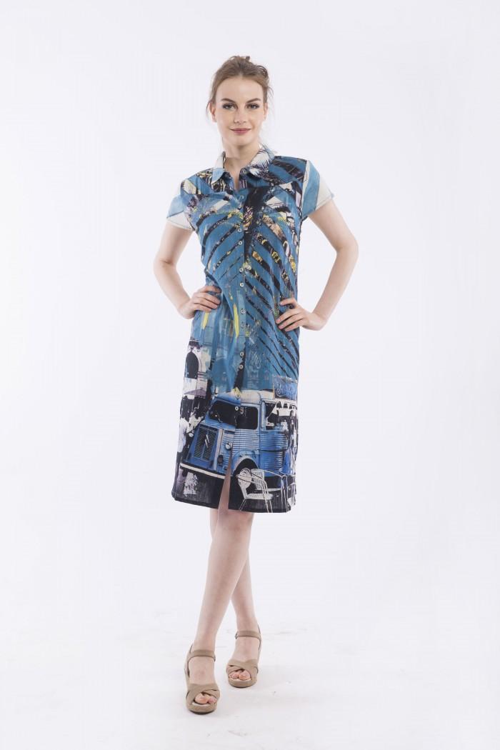 OQ SHIRT DRESS