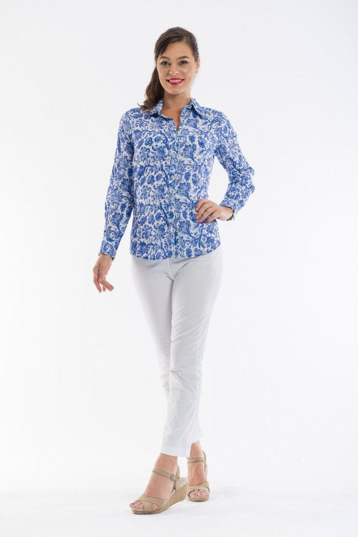 OQ Long Sleeve Blouse