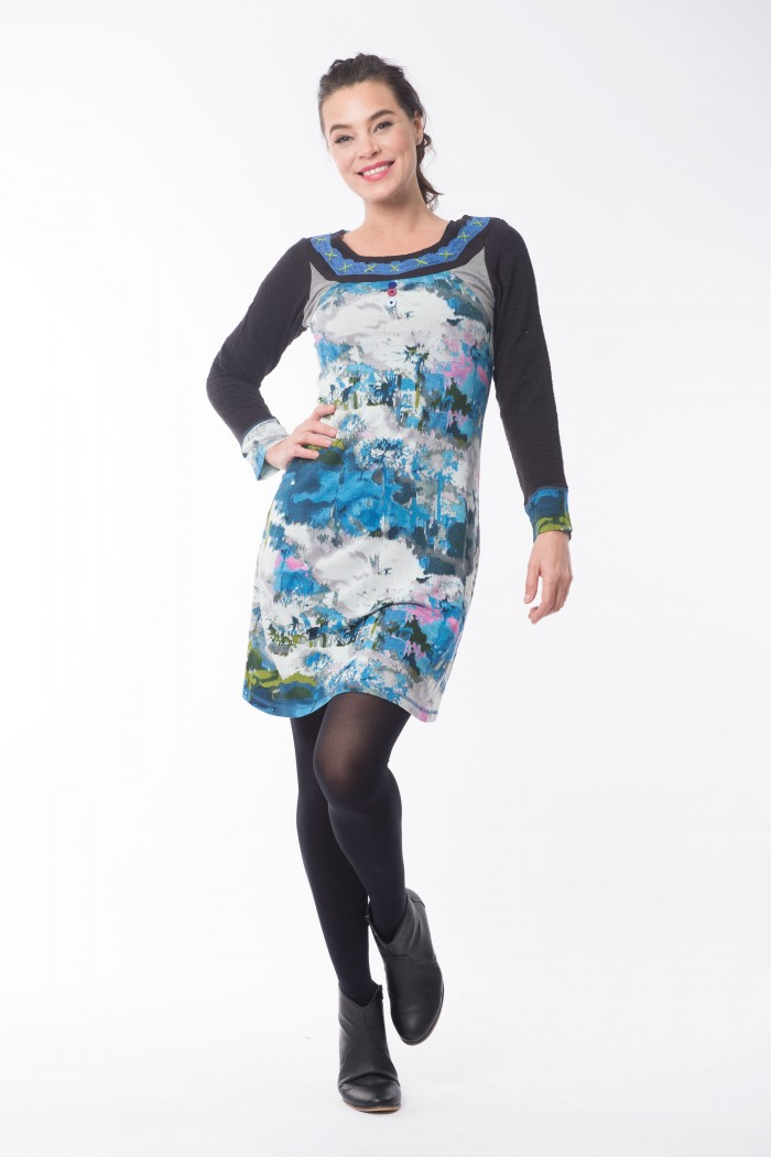 OQ Dress Round Neck