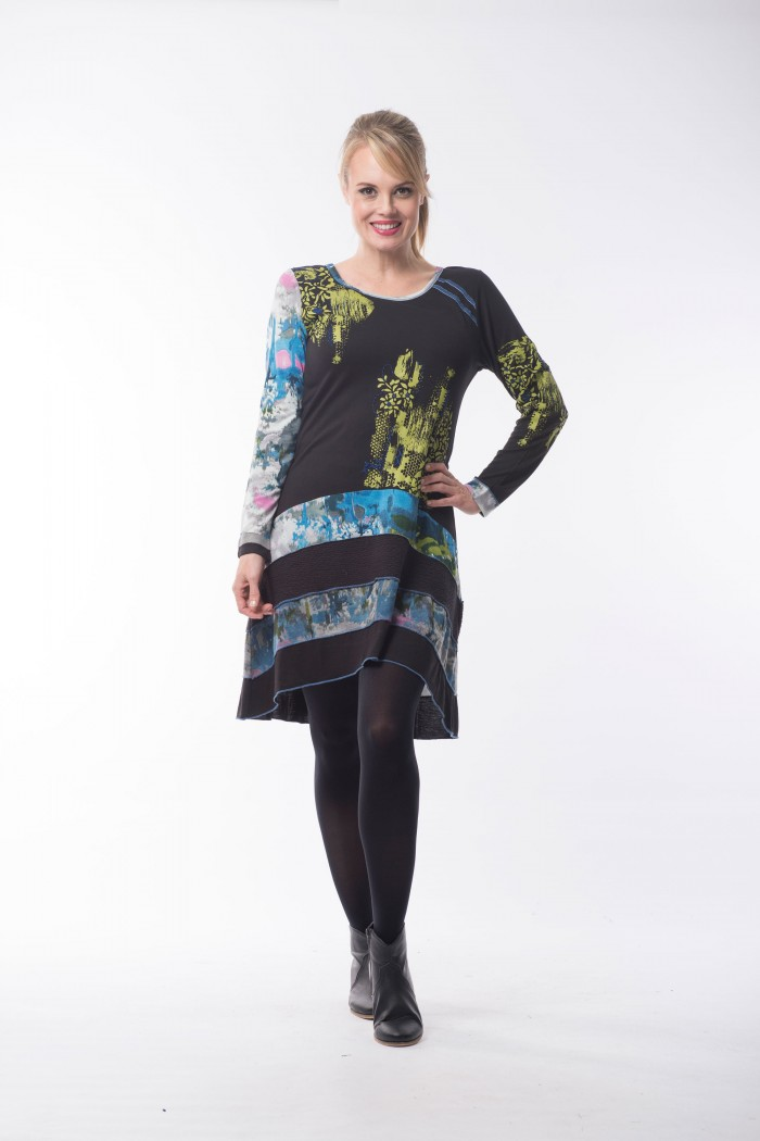 OQ Tunic Layered Hem