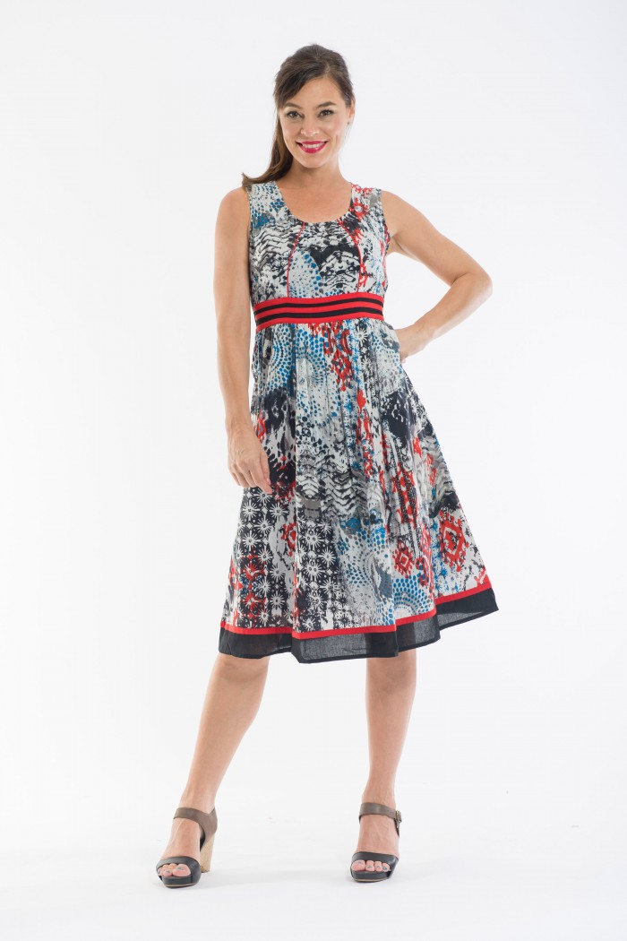OQ Flaired Dress