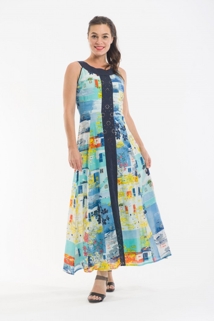 OQ Shift Dress Long
