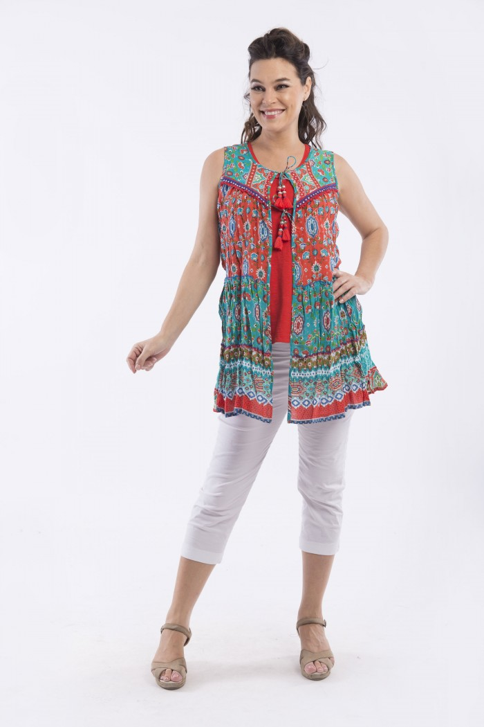 b003071991 Wholesale Cotton Printed Dresses for Women
