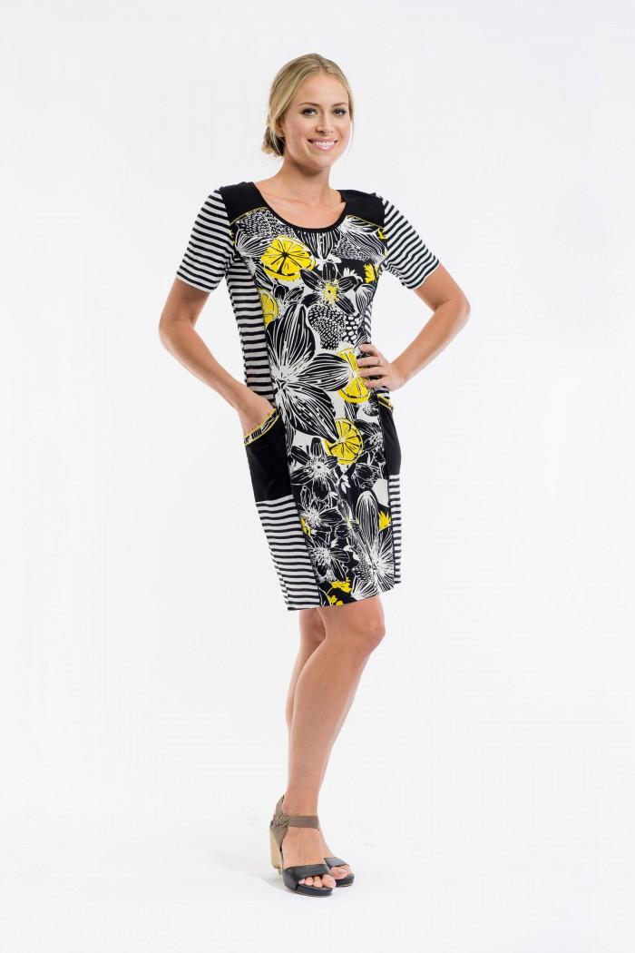 OQ Pocket Dress