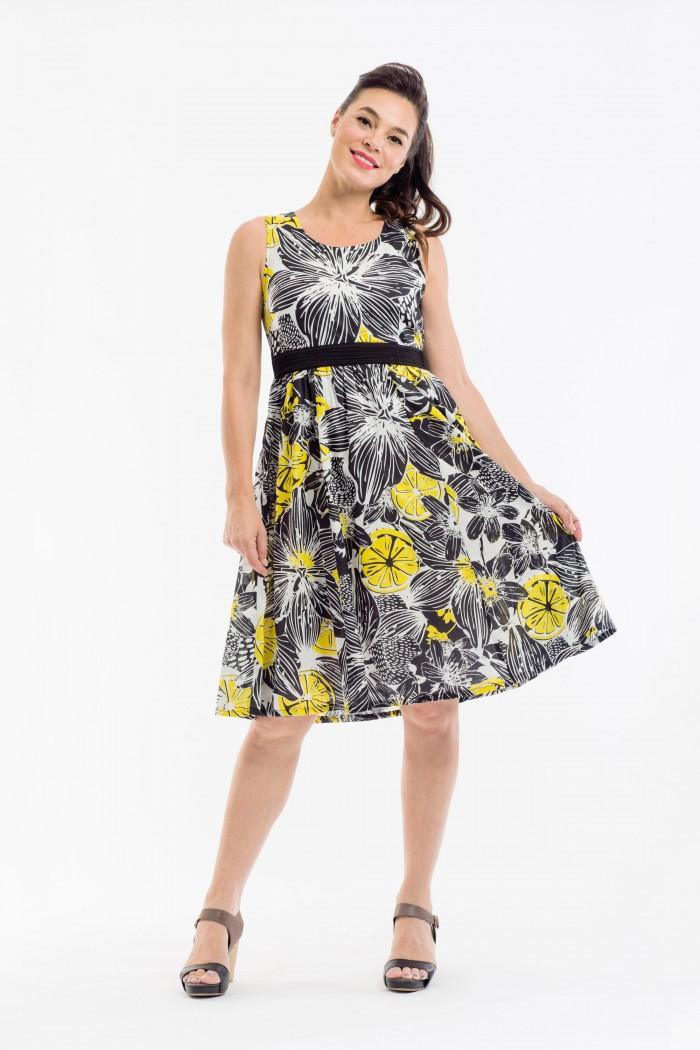 OQ Gathered Dress