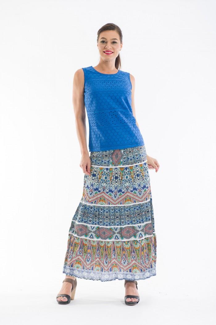 OQ Tiered Skirt