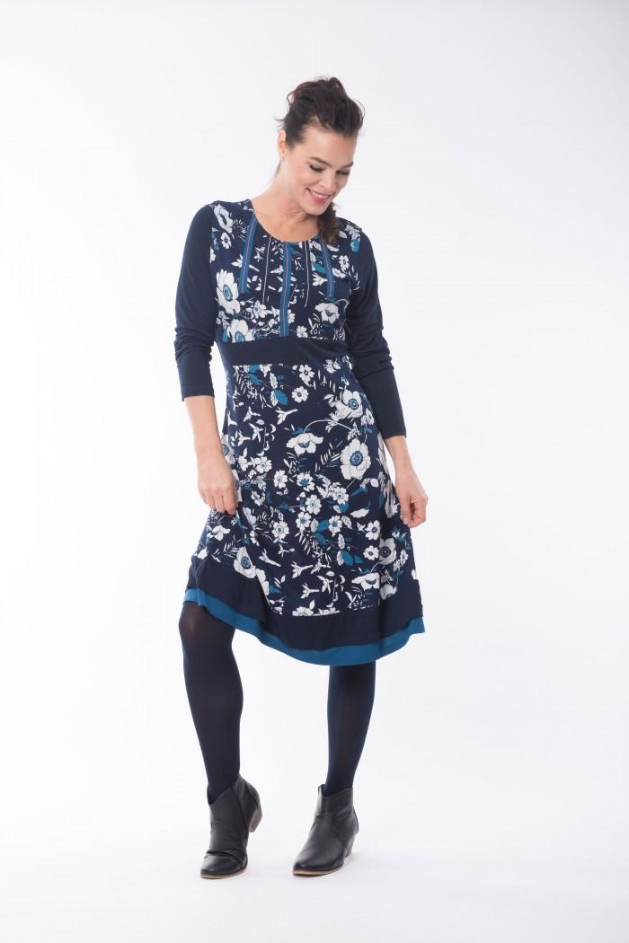 OQ Dress Banded Waist