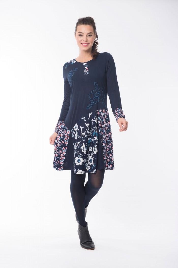 OQ Dress Godet Skirt