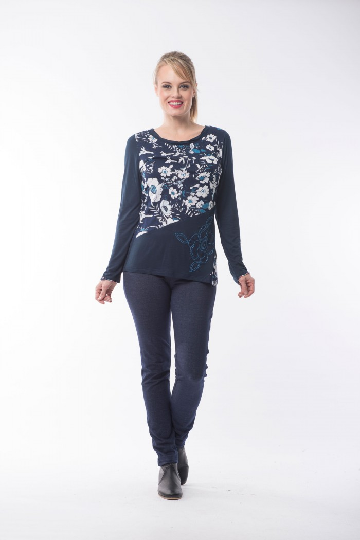 OQ Top Layered Neck
