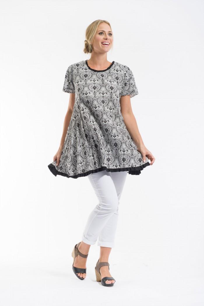 OQ Swing Dress Reversible
