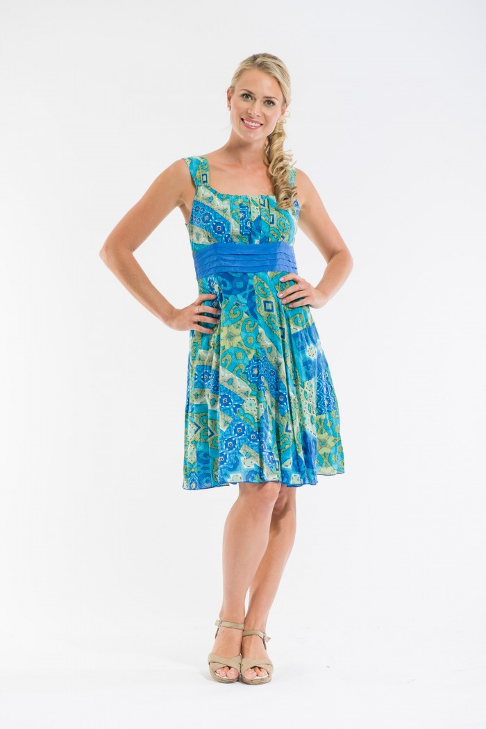 OQ Banded Waist Dress