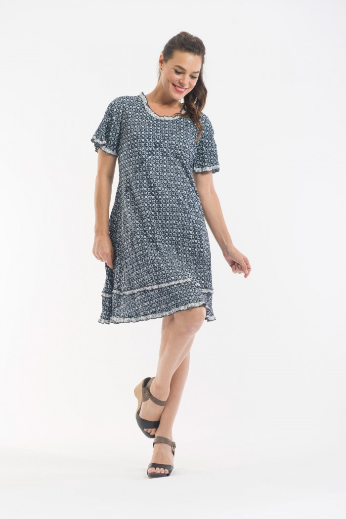 OQ Swing Dress Reversible
