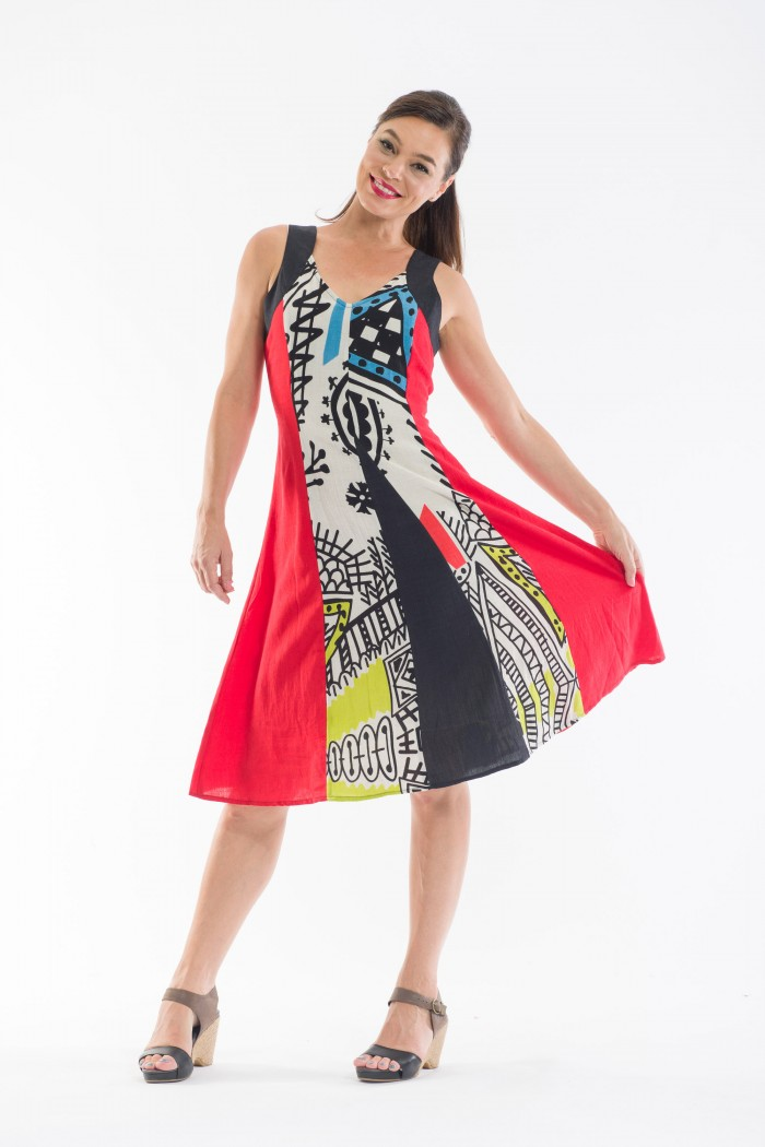 OQ Godet Skirt Dress