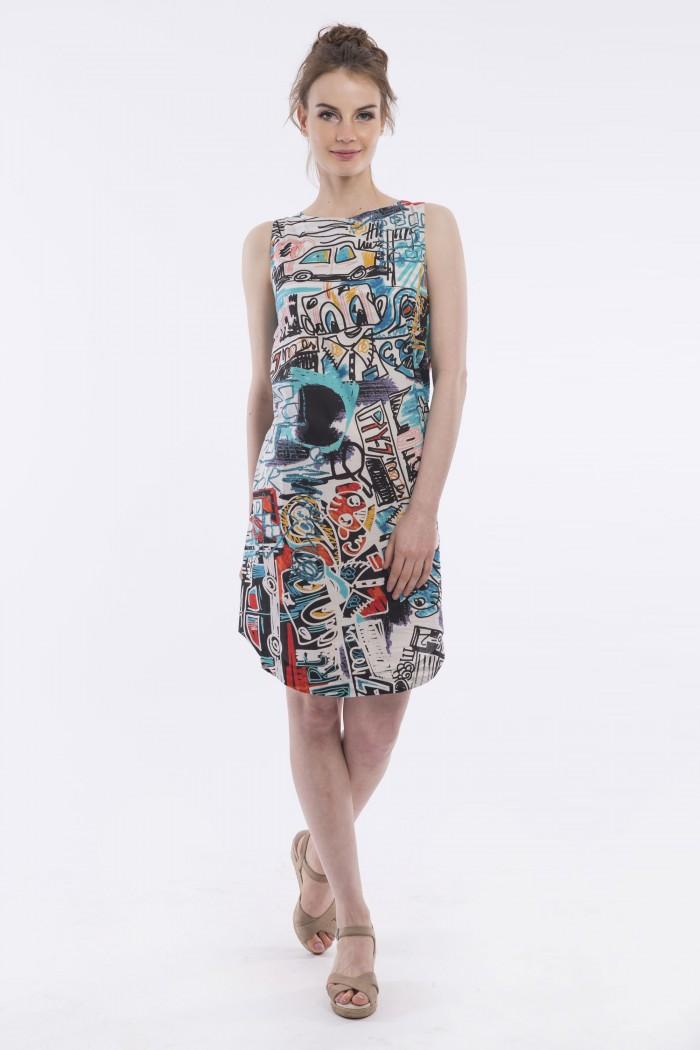 OQ LOOSE SHIFT DRESS