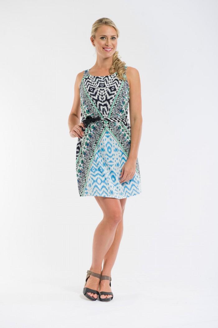 OQ Belted Dress