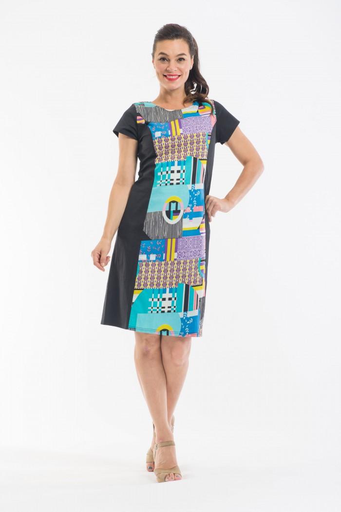 OQ Princess Panel Dress