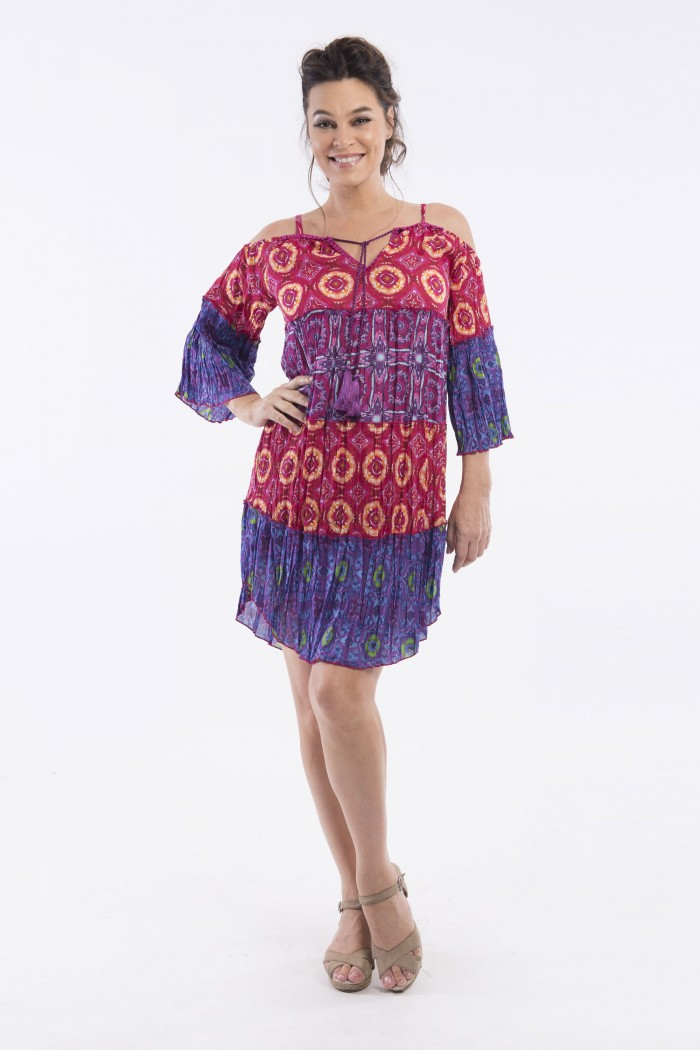 OQ OFF SHOULDER DRESS