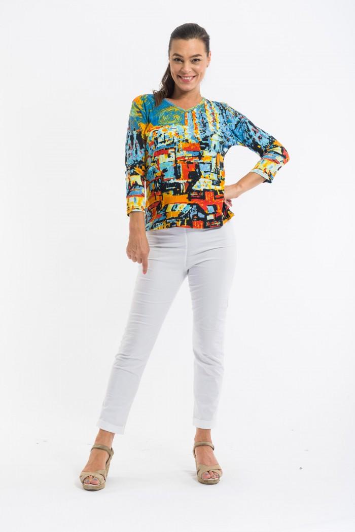 OQ T-Shirt 3/4 Sleeve