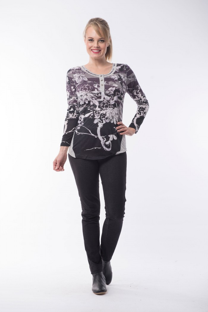 OQ Top Round Neck
