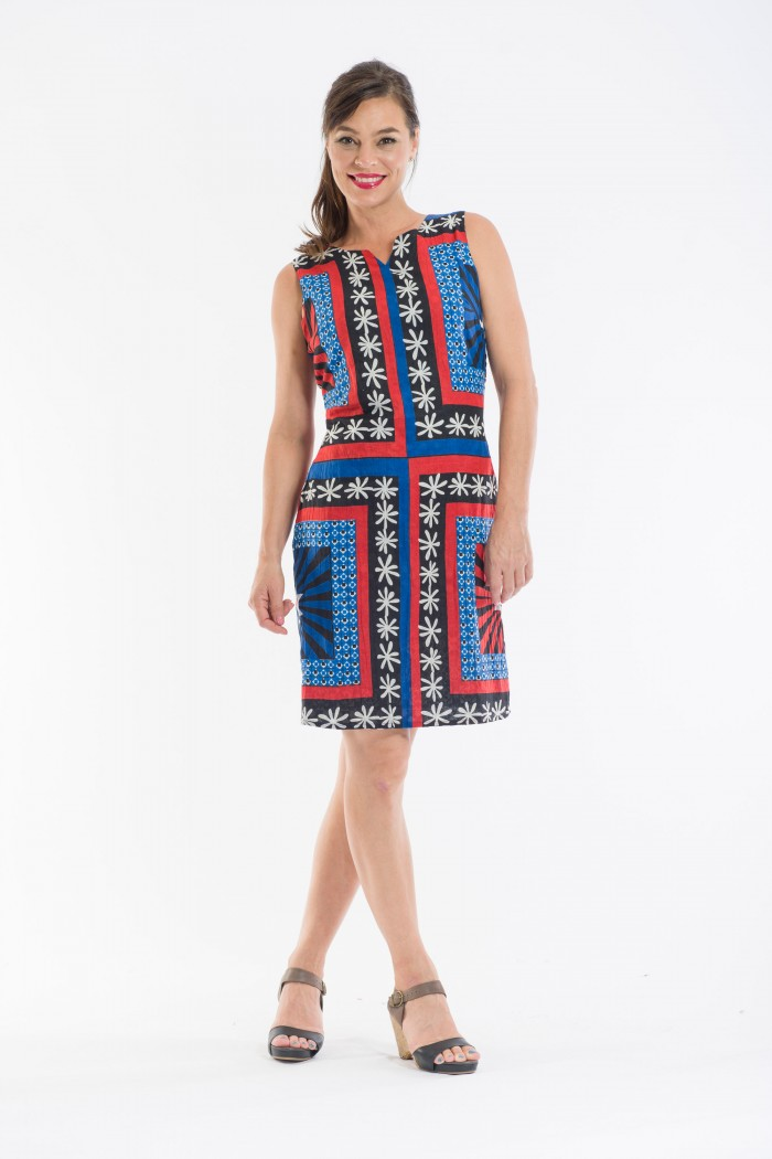 OQ Shift Dress Reversible