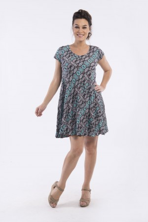 OQ REVERSIBLE SWING DRESS