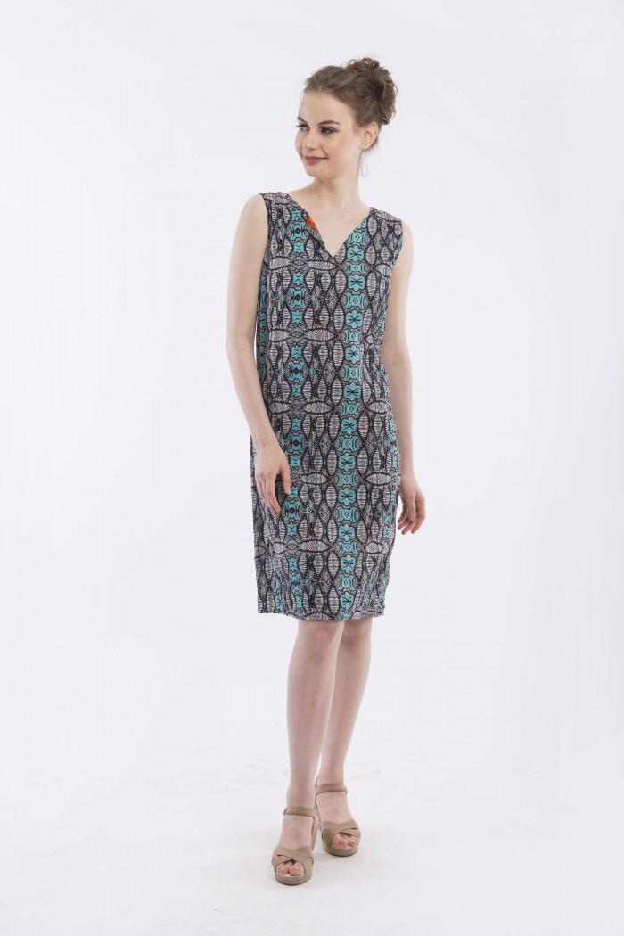 OQ REVERSIBLE SHIFT DRESS